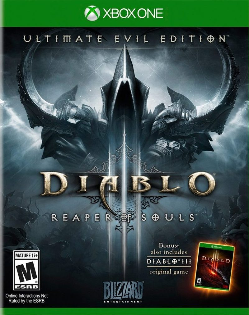 XBOX ONE Diablo 3 Ultimate Evil Edtion