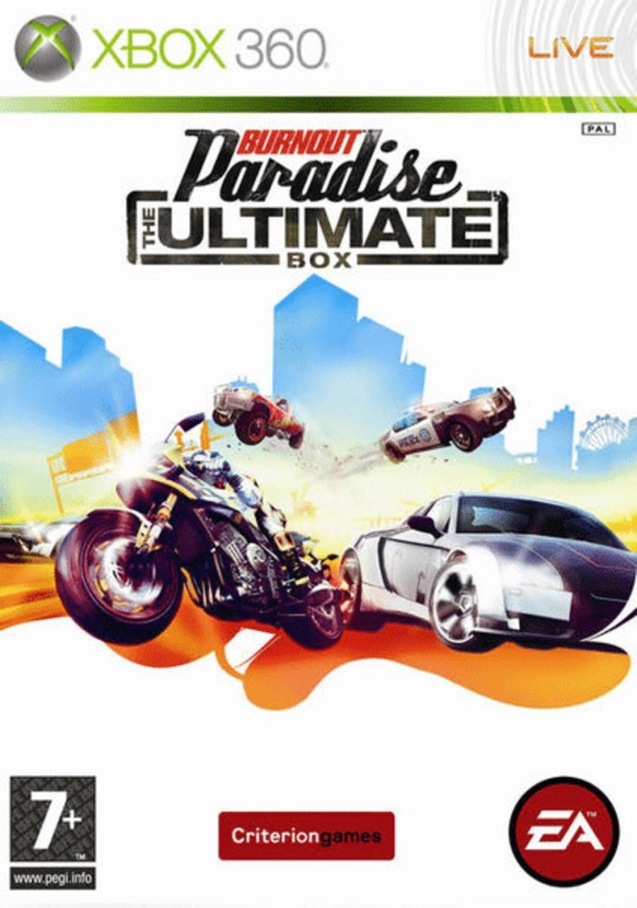 XBOX 360 Burnout Paradise Ultimate Box