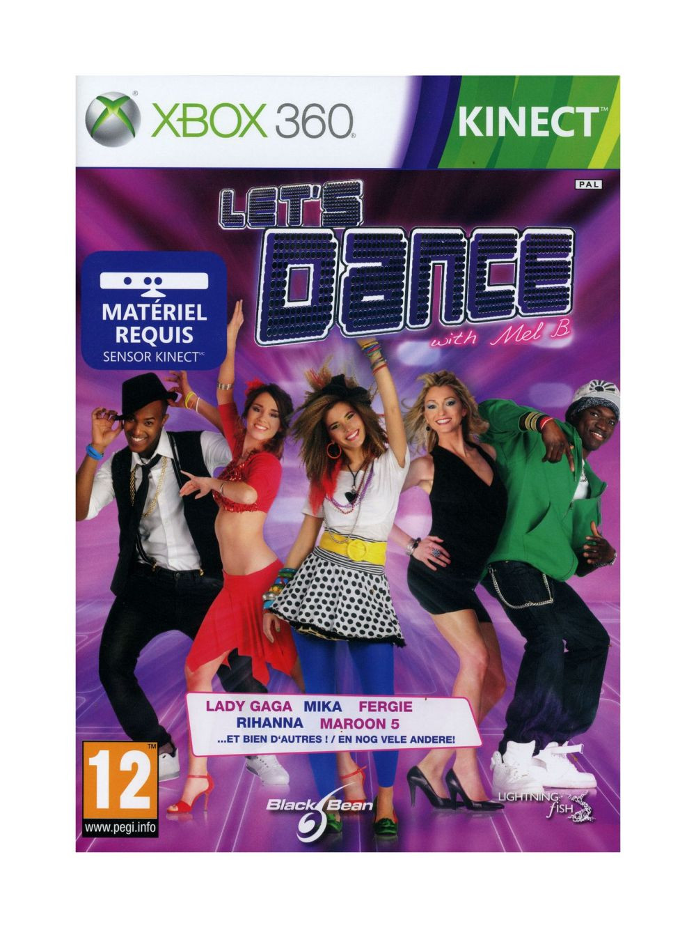XBOX 360 Lets Dance With Mel B. KINECT