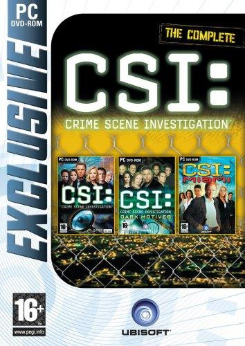 PCG CSI Triple Pack (CSI + CSI Dark Motives + CSI Miami)