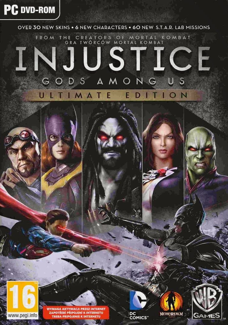 PCG Injustice God Among Us - Ultimate Edition