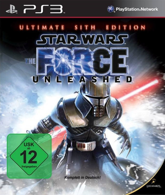 PS3 Star Wars - Force Unleashed - Ultimate Sith Edition