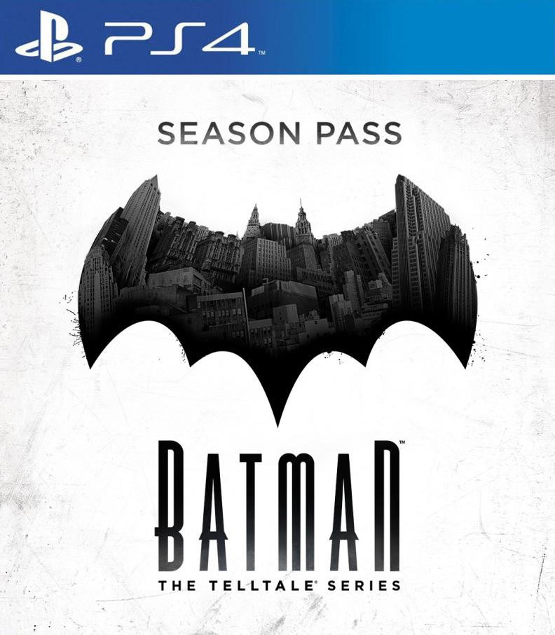 PS4 Batman The Telltale Series