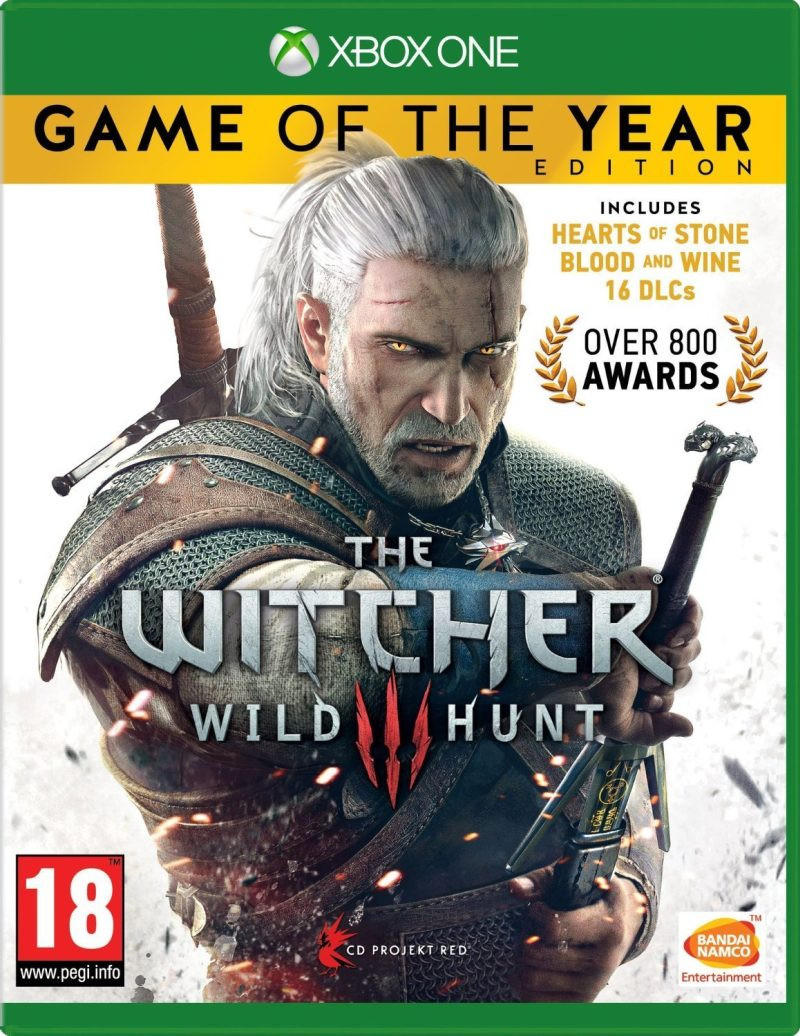 XBOX ONE The Witcher 3 Wild Hunt GOTY