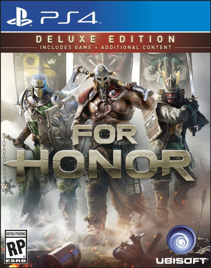 PS4 For Honor Deluxe Edition