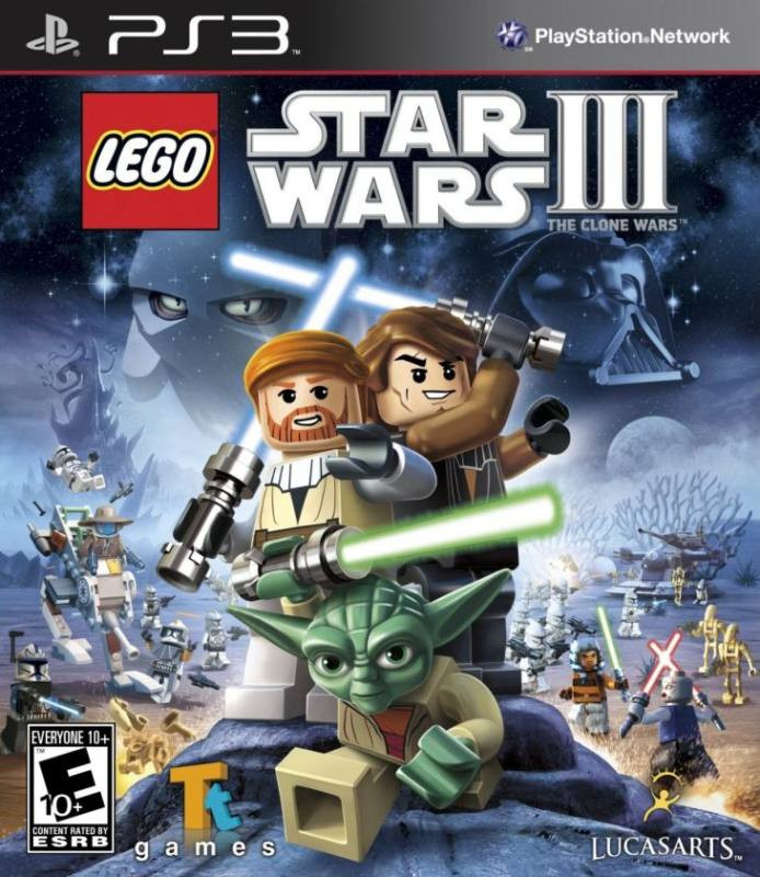 PS3 Lego Star Wars 3 - The Clone Wars