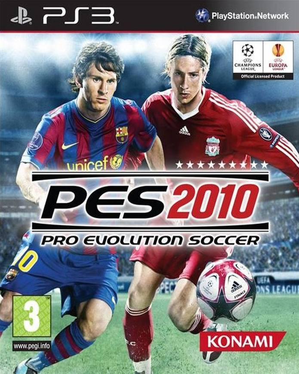 PS3 Pro Evolution Soccer 2010 PES 2010