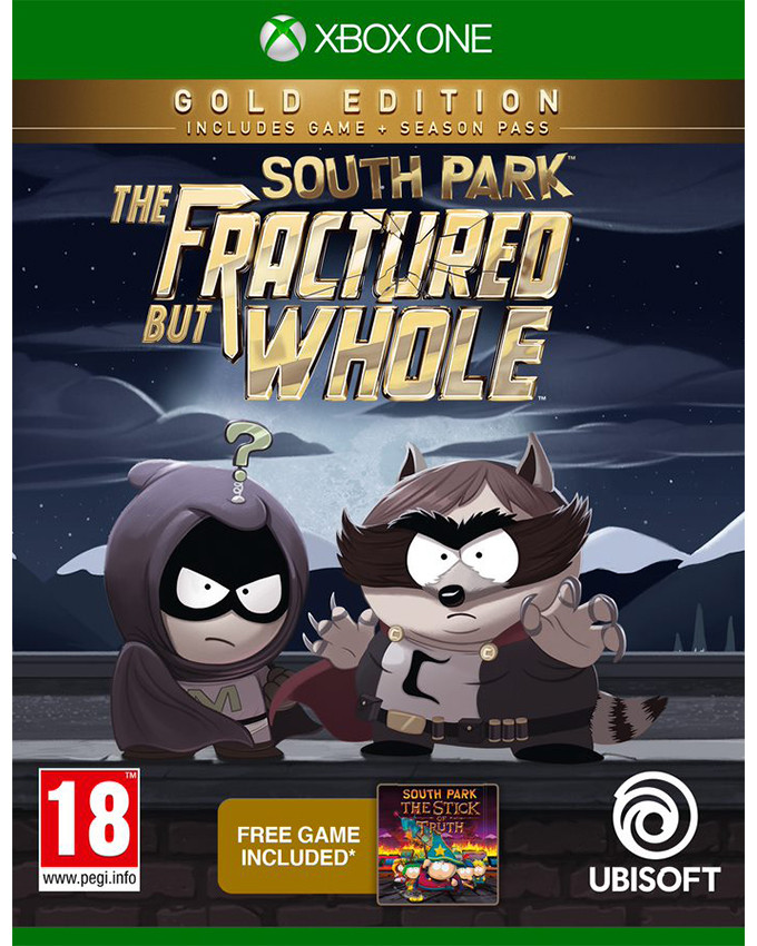 XBOX ONE South Park The Fractured But Whole - Gold Edition