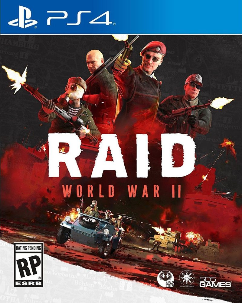 PS4 RAID World War II