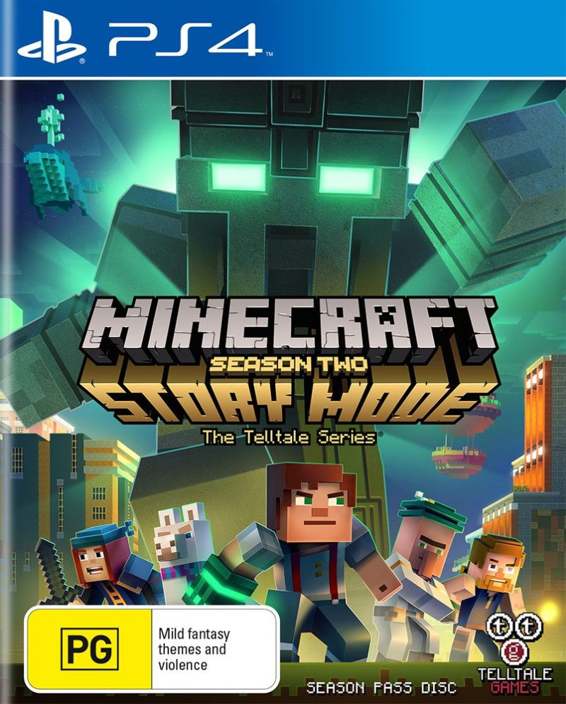 PS4 Minecraft Story Mode - Season Two