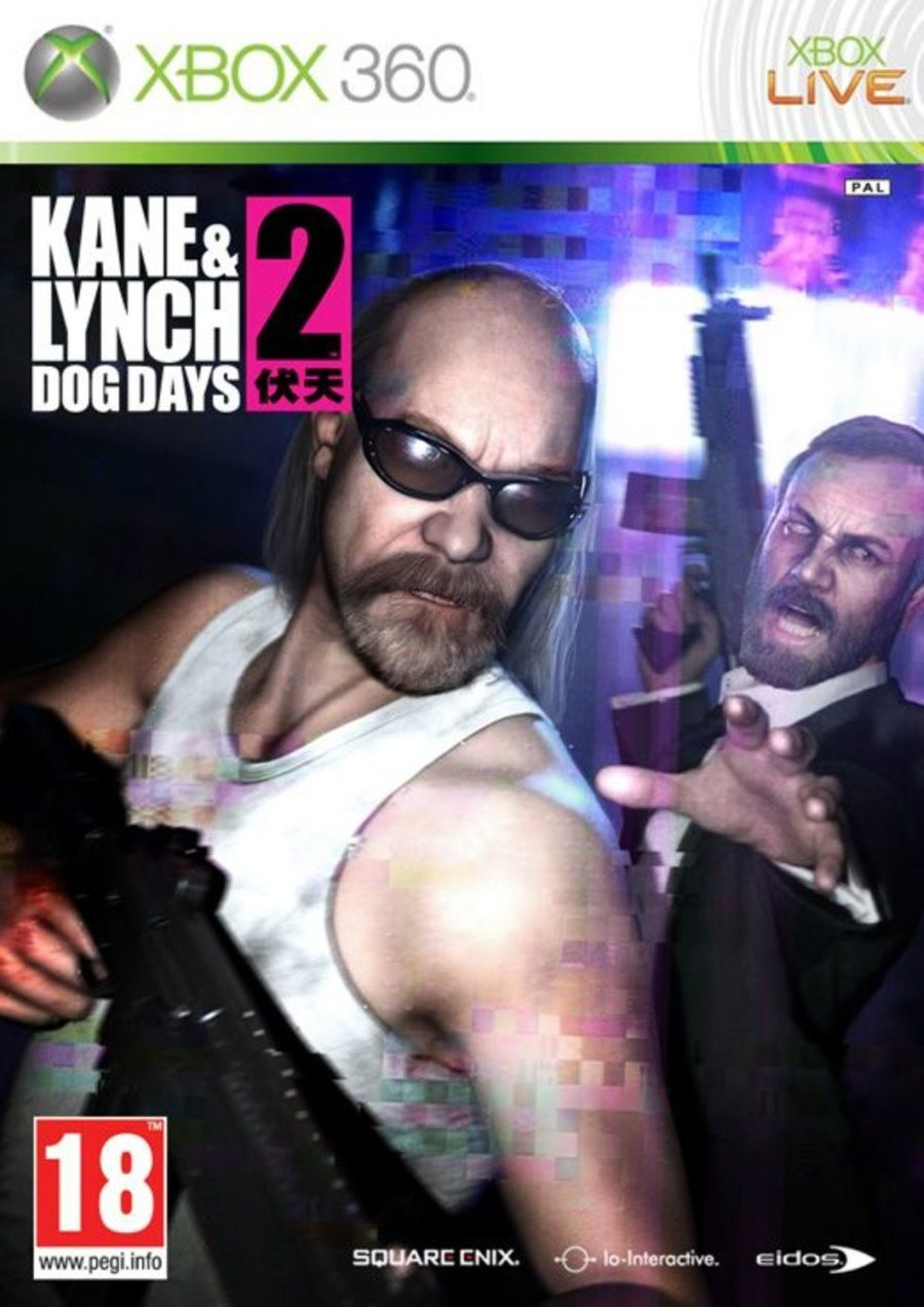 XBOX 360 Kane And Lynch 2 - Dog Days