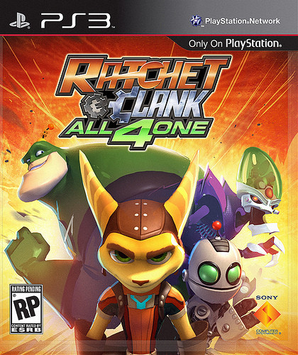 PS3 Ratchet And Clank - All 4 One