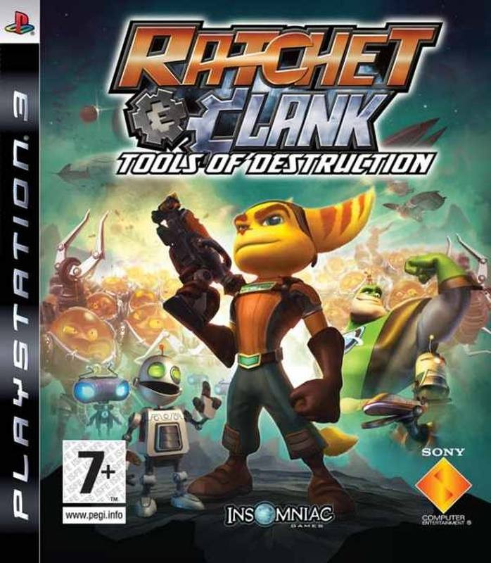 PS3 Ratchet And Clank - Tools Of Destruction