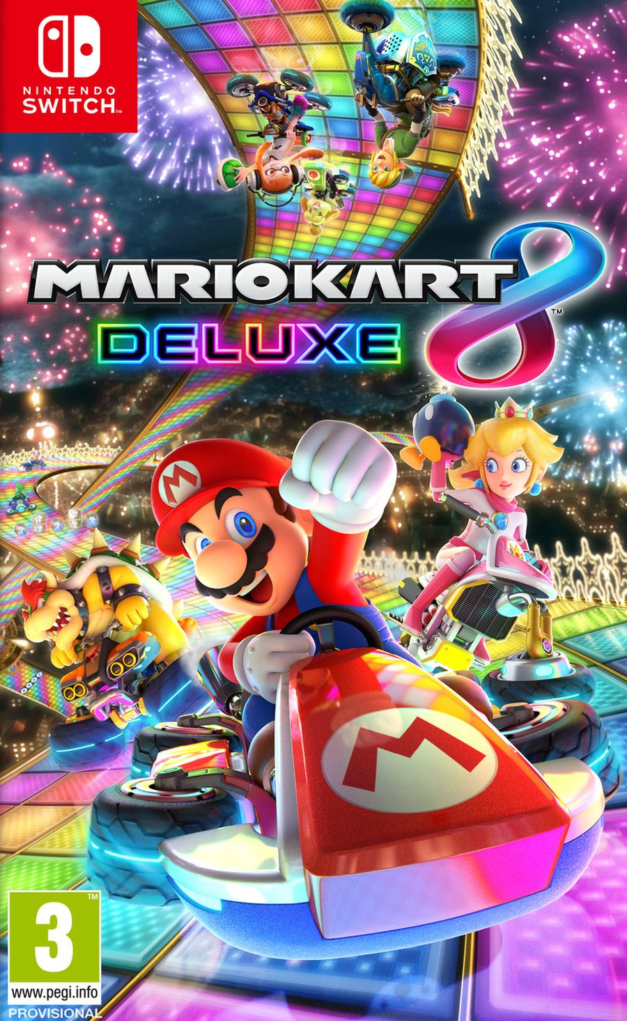 SWITCH Mario Kart 8 Deluxe Edition