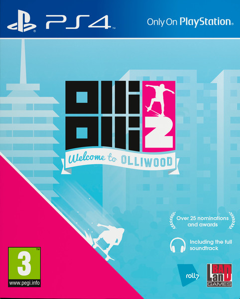 PS4 OlliOlli 2 - Welcome to Olliwood