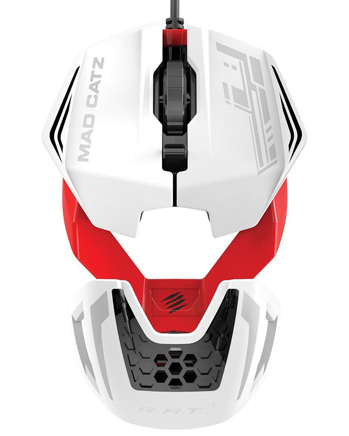 Miš Mad Catz R.A.T.1 WHITE/RED