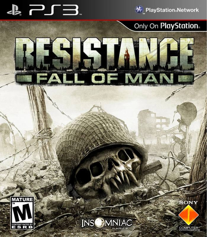 PS3 Resistance 1 - Fall of Man