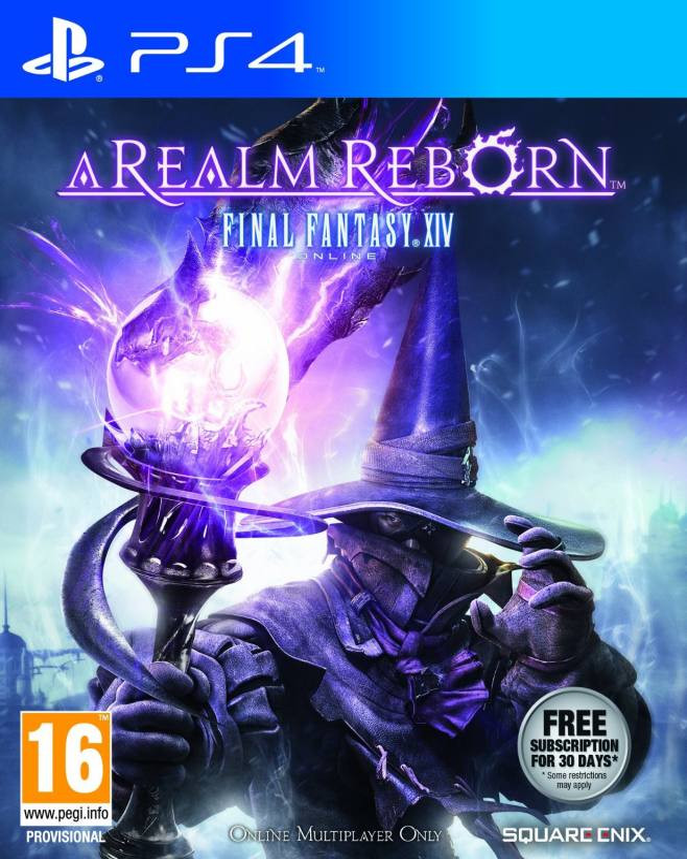 PS4 A Realm Reborn - Final Fantasy XIV