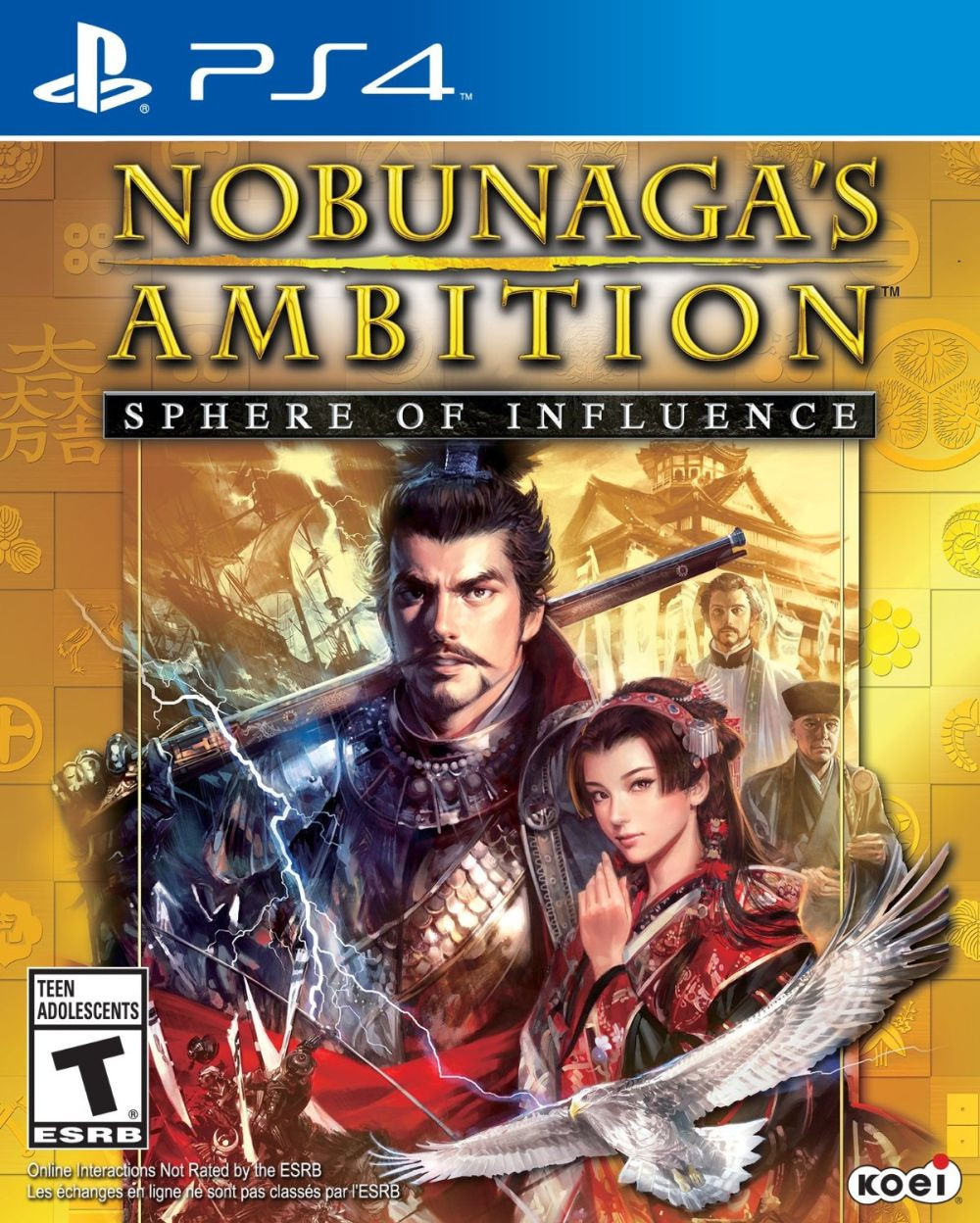 PS4 Nobunagas Ambition - Sphere of Influence