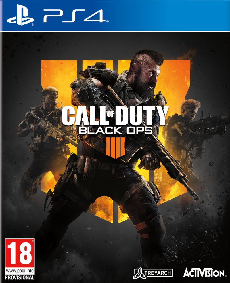 PS4 Call of Duty - Black Ops 4