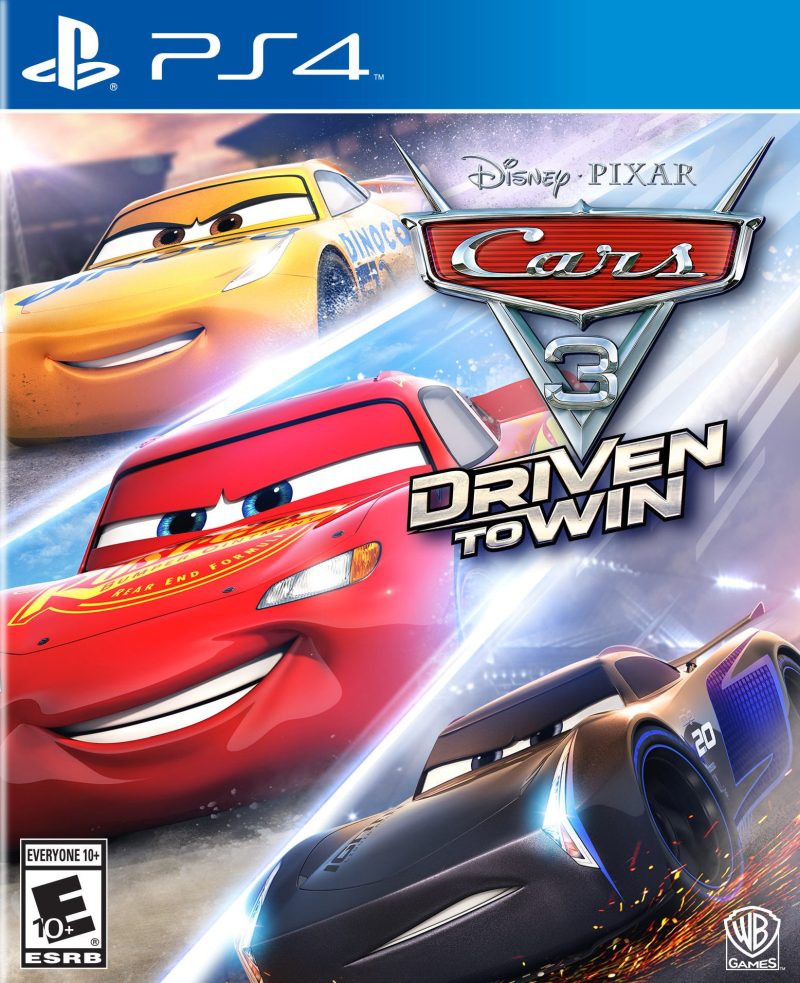 PS4 Cars 3 - Driven to Win