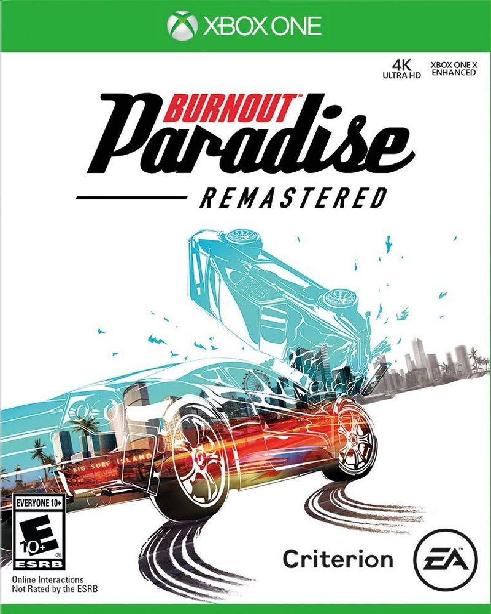 XBOX ONE Burnout Paradise Remastered