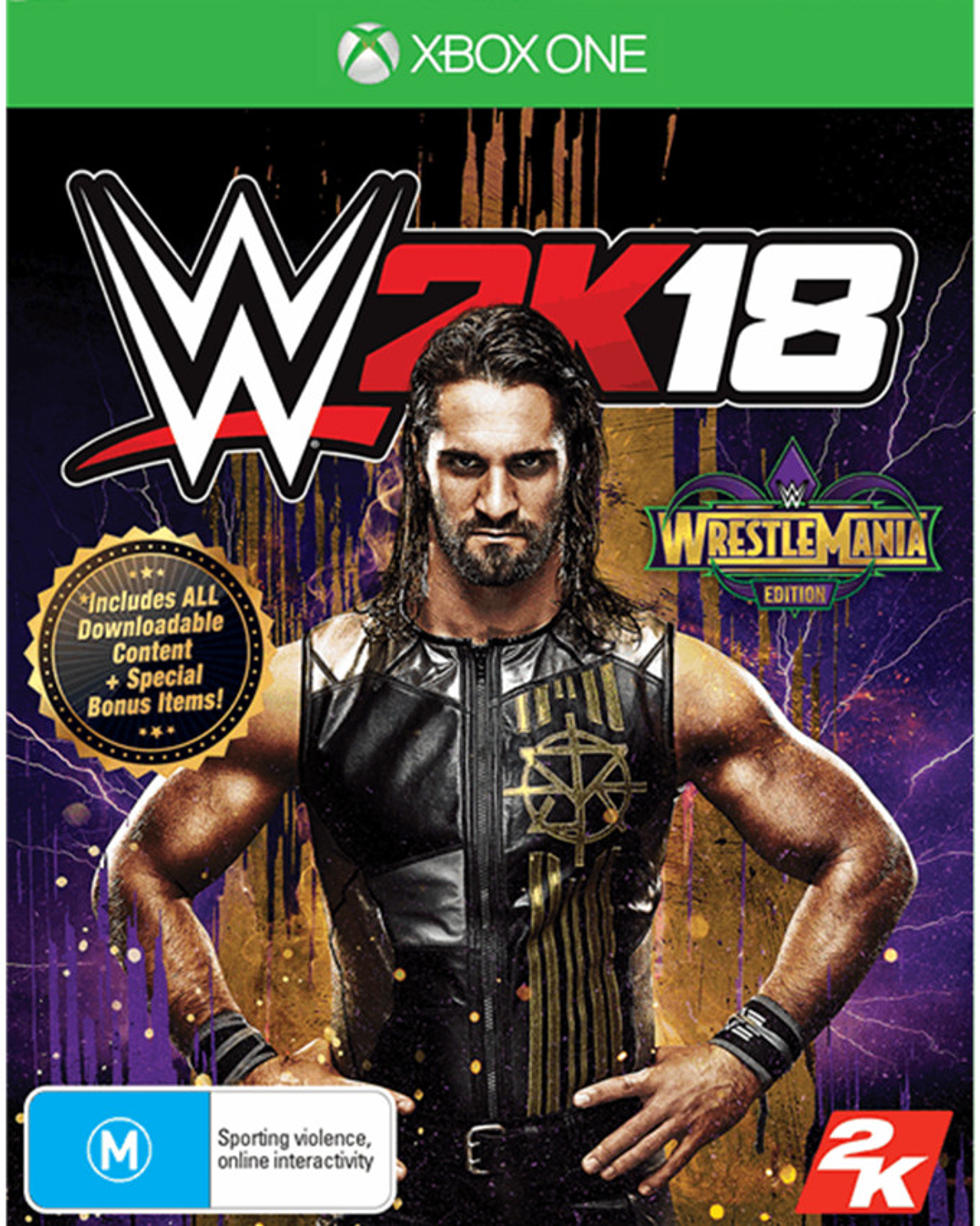XBOX ONE WWE 2K18 - WrestleMania Edition