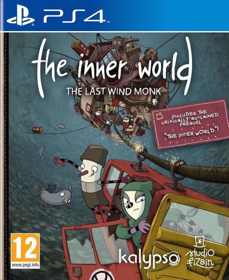 PS4 The Inner World - The Last Wind Monk