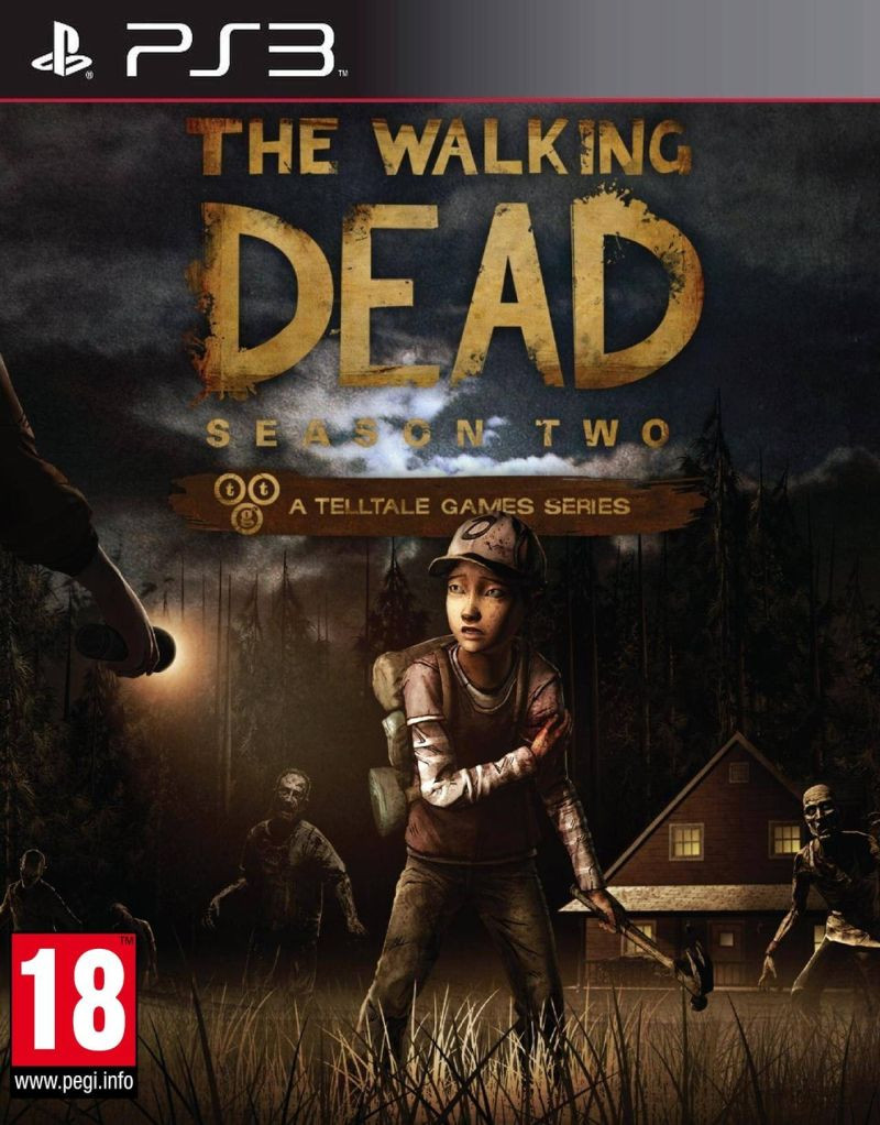 PS3 The Walking Dead Season Two