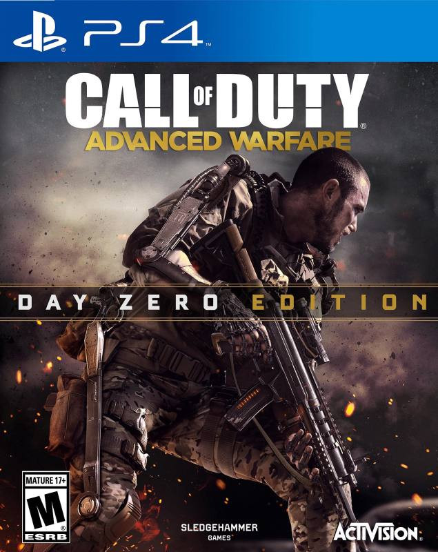 PS4 Call of Duty - Advanced Warfare