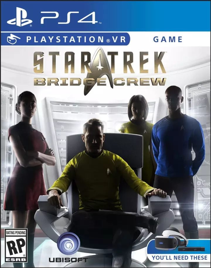 PS4 Star Trek Bridge Crew VR
