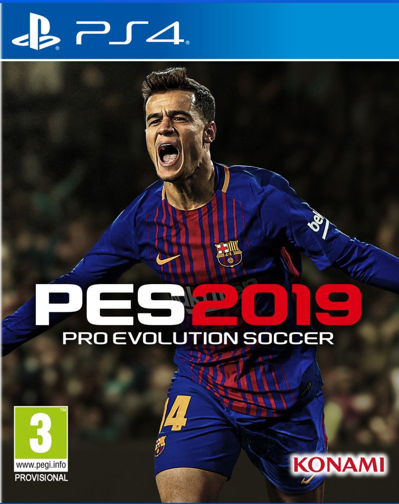 PS4 Pro Evolution Soccer 2019 PES 2019