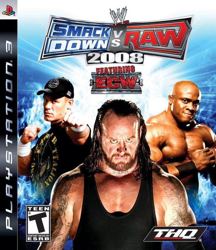 PS3 Smack Down vs Raw 2008