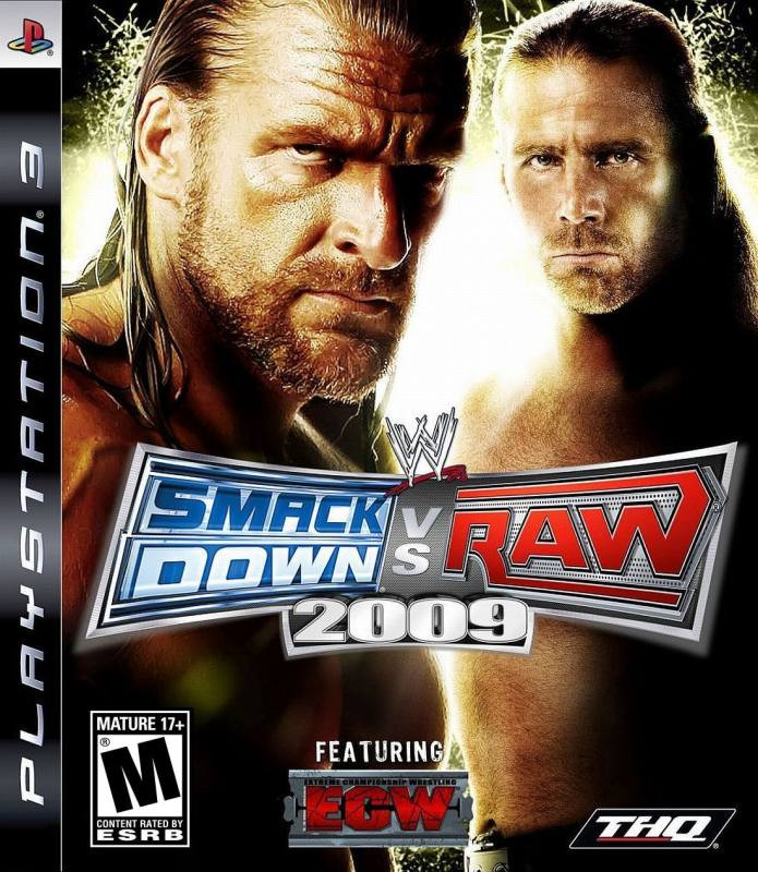 PS3 Smack Down vs Raw 2009