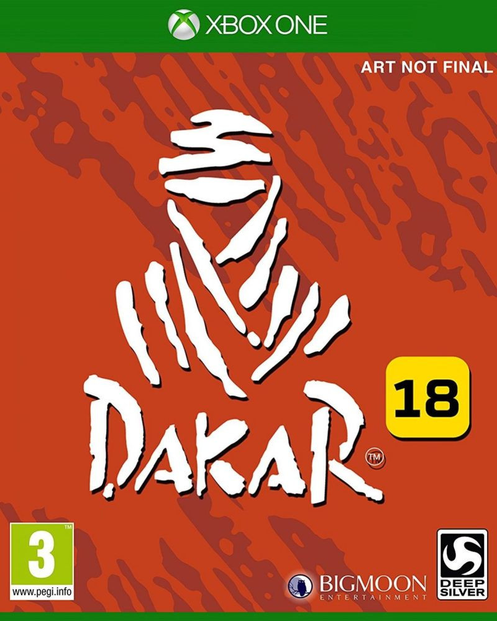XBOX ONE Dakar 18