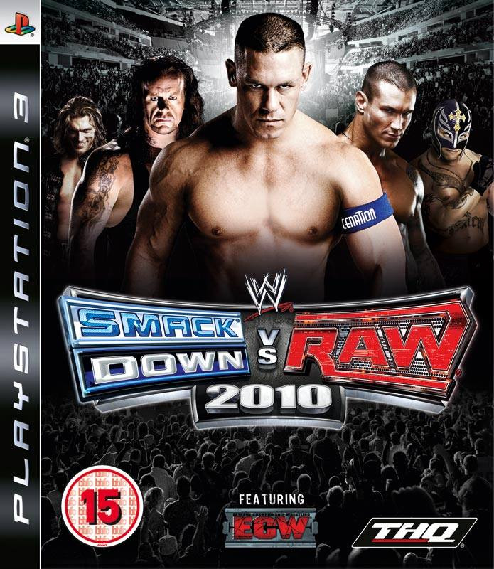 PS3 Smack Down vs Raw 2010