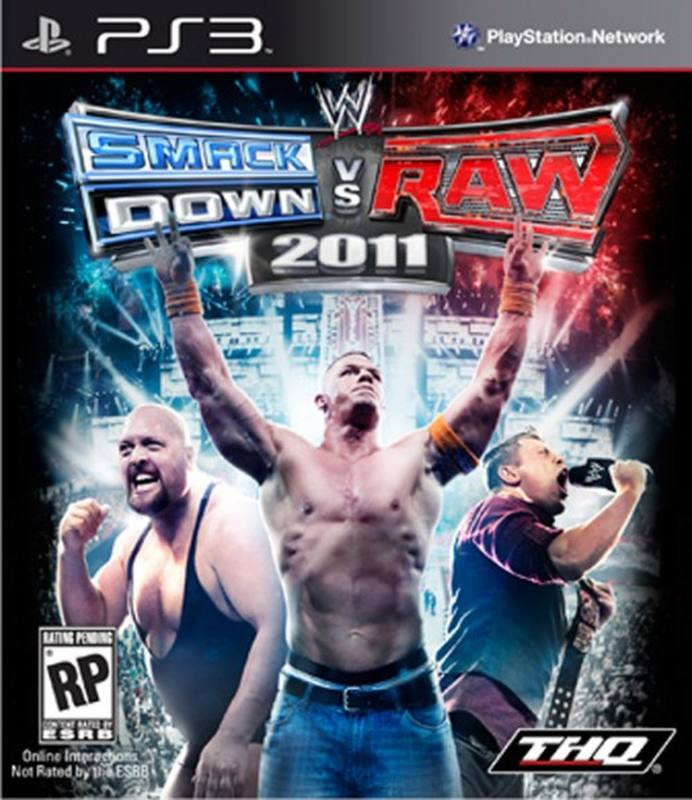 PS3 Smack Down vs Raw 2011