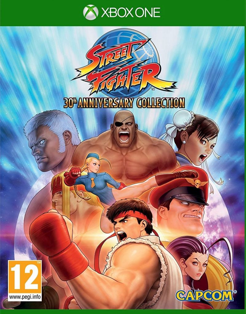 XBOX ONE Street Fighter 30th Anniversary Collection