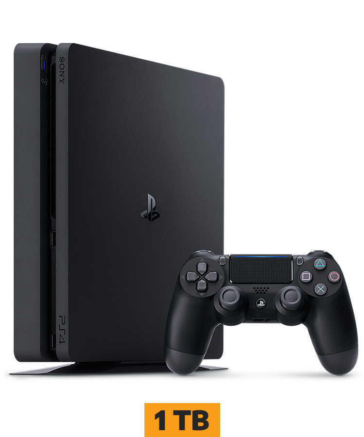 Konzola Sony Playstation 4 Slim 1TB PS4 Black