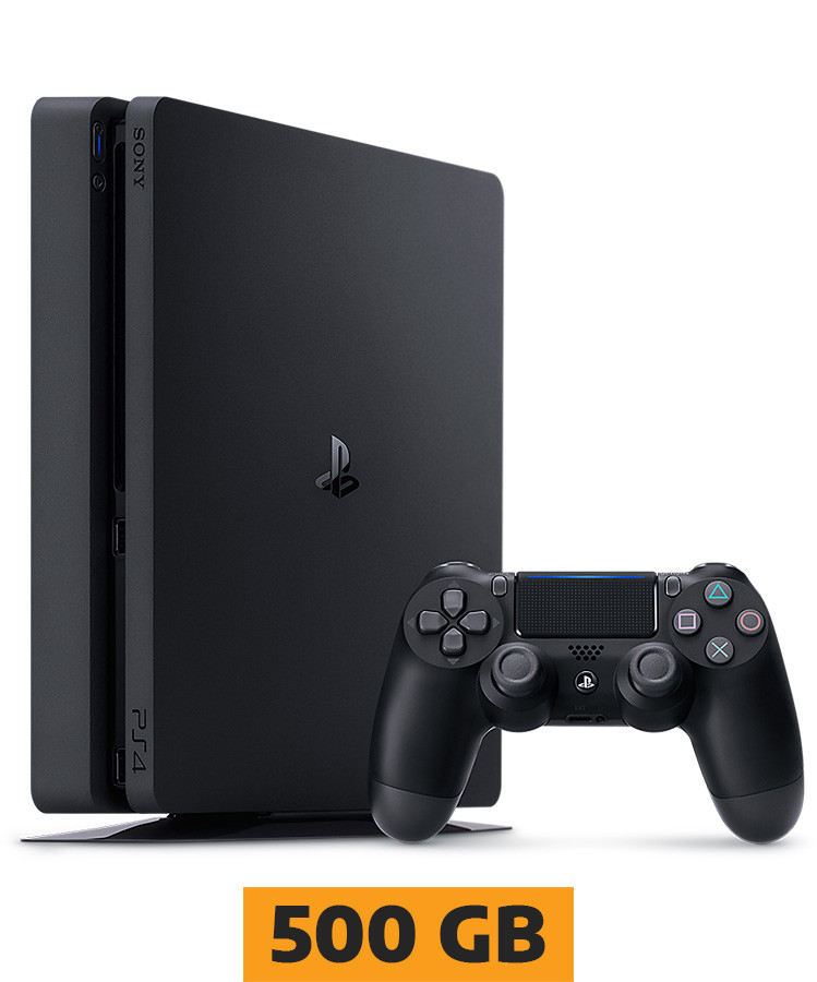 Konzola Sony Playstation 4 Slim 500GB Black