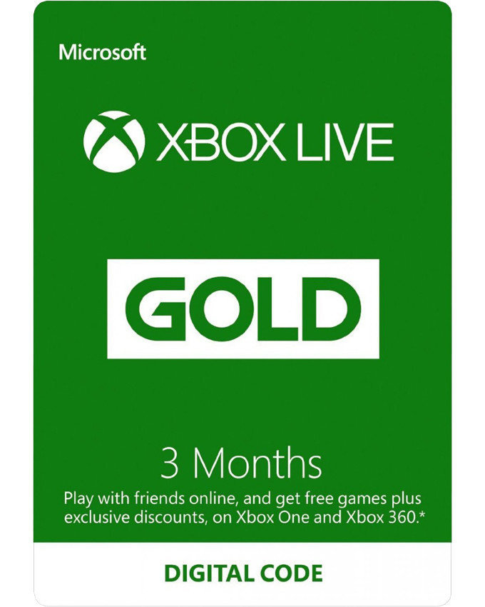 XBOX Live Gold pretplata