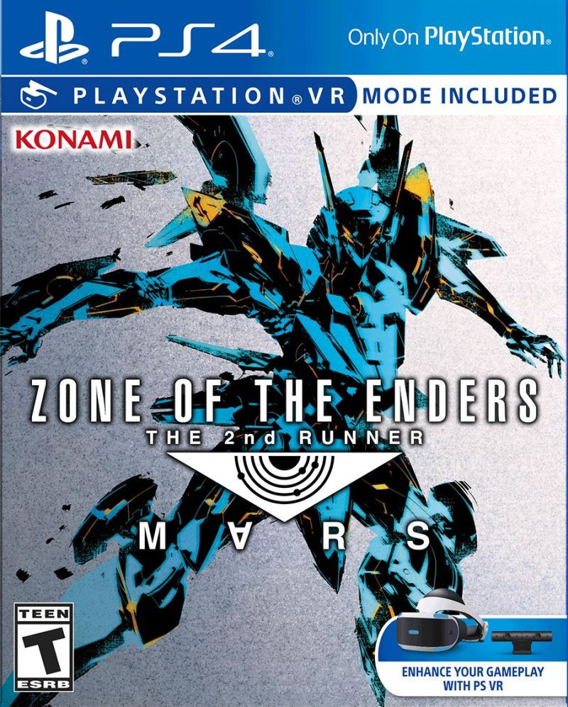 PS4 ZONE OF THE ENDERS - The 2nd RUNNER MARS VR