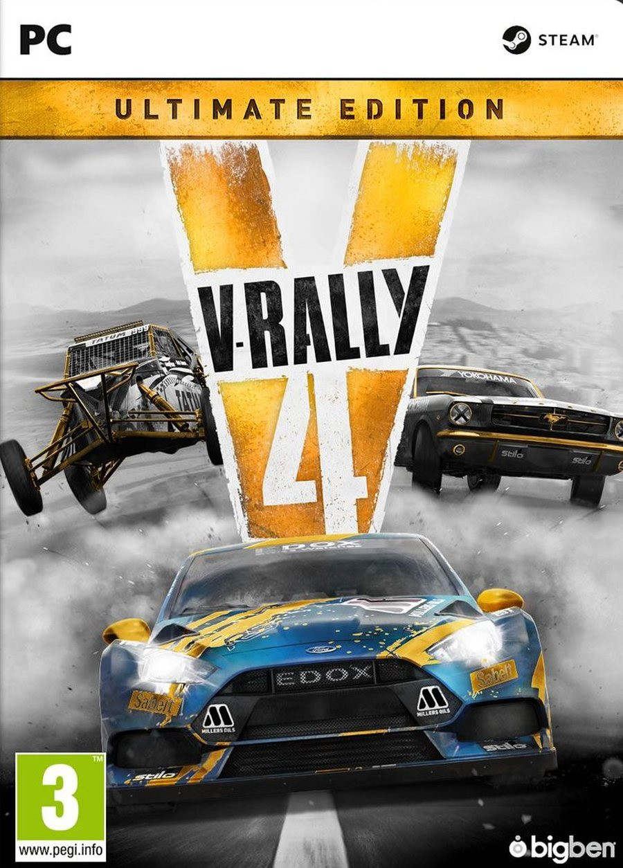 PCG V-RALLY 4 - Ultimate Edition