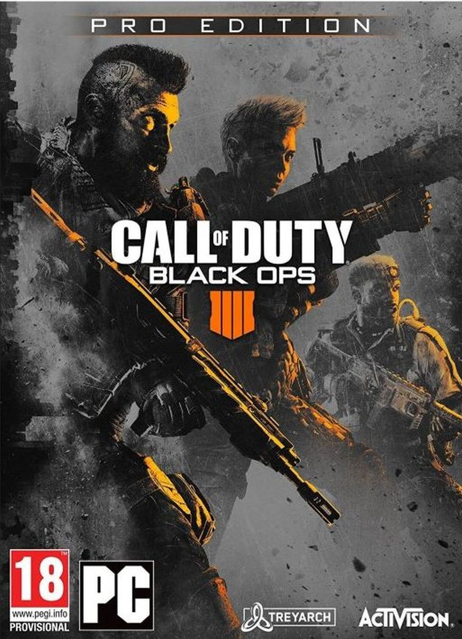 PCG Call of Duty - Black Ops 4 PRO Edition