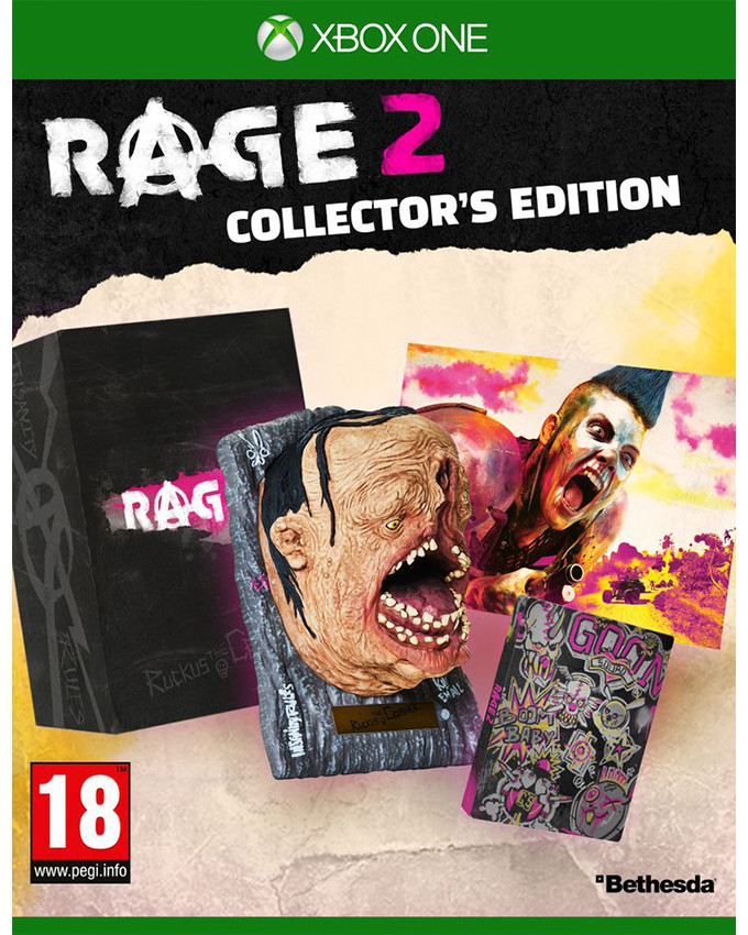 XBOX ONE RAGE 2 Collectors Edition
