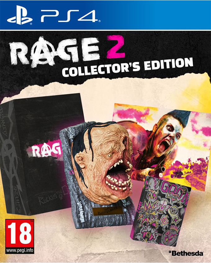 PS4 RAGE 2 Collectors Edition