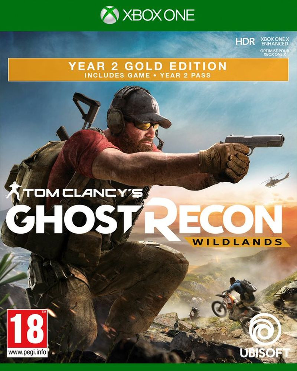 XBOX ONE Tom Clancys Ghost Recon: Wildlands - Year 2 Gold