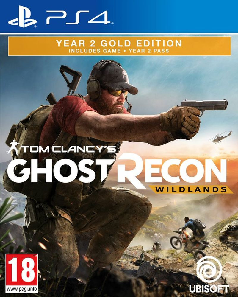PS4 Tom Clancys Ghost Recon: Wildlands - Year 2 Gold