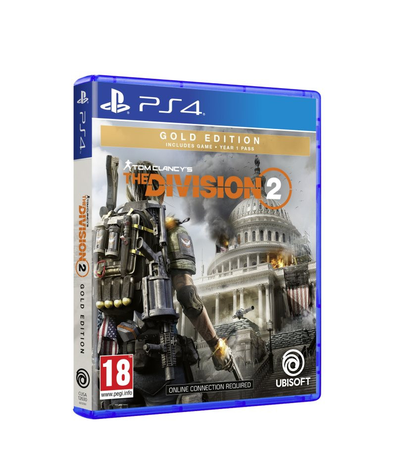 PS4 Tom Clancys: The Division 2 Gold Edition