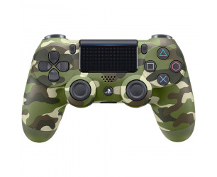 Dualshock 4 Wireless Controller PS4 Green Camo Gamepad